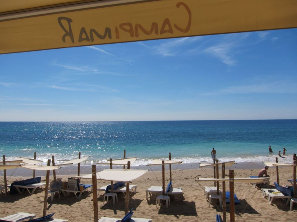 View from restaurant Campimar