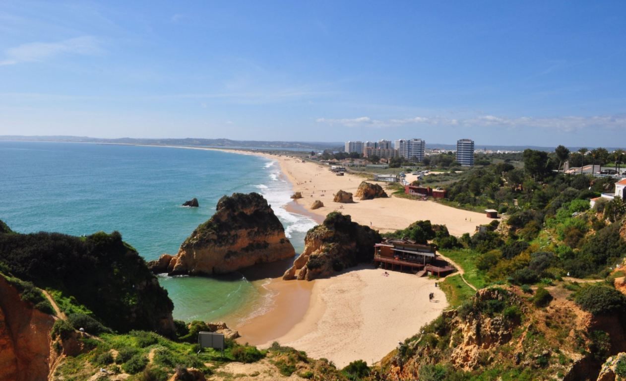 View over Praia de Alvor