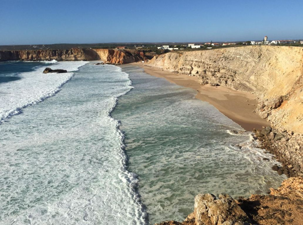 Praia do Tonel - view from the cliffs