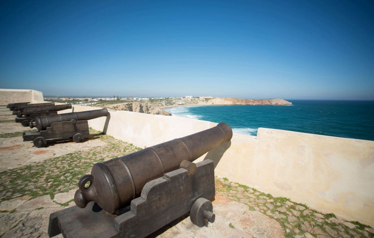 Cannons in the fortress of Sagres