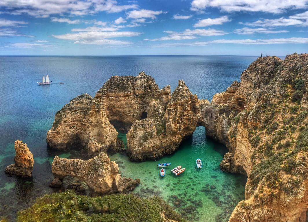Boat tour from Lagos to Ponta da Piedade