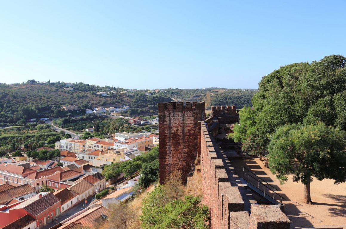 View from the castle of Silves