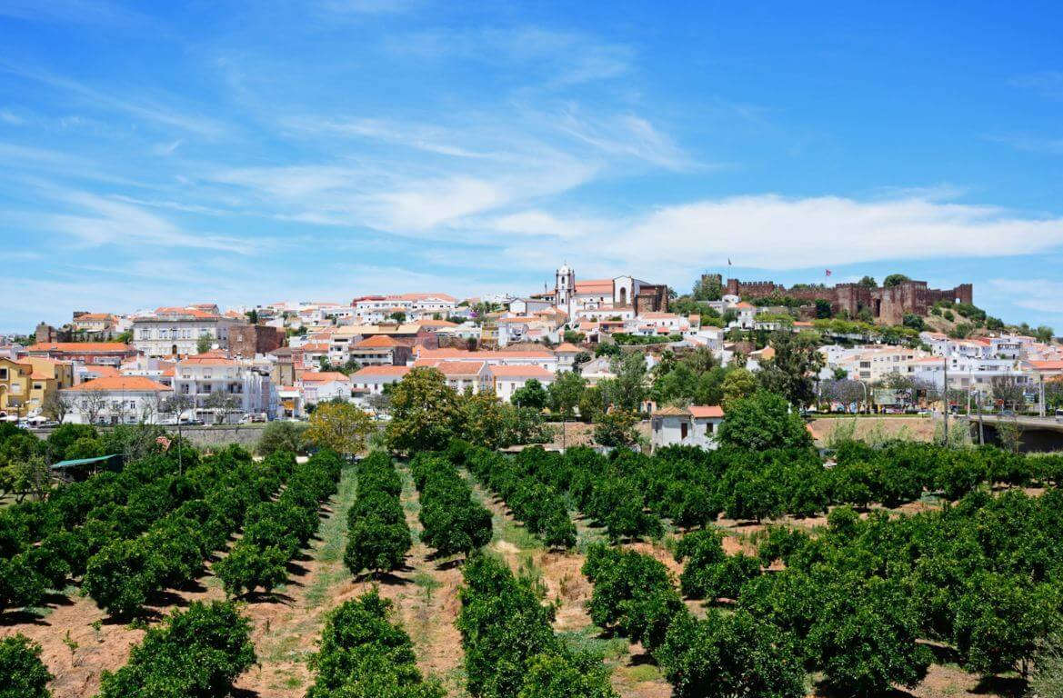 View over Silves