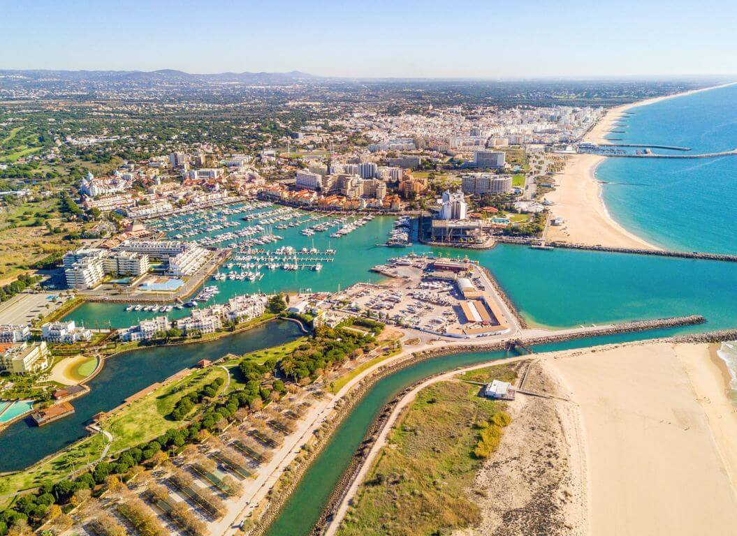 Vilamoura from the air