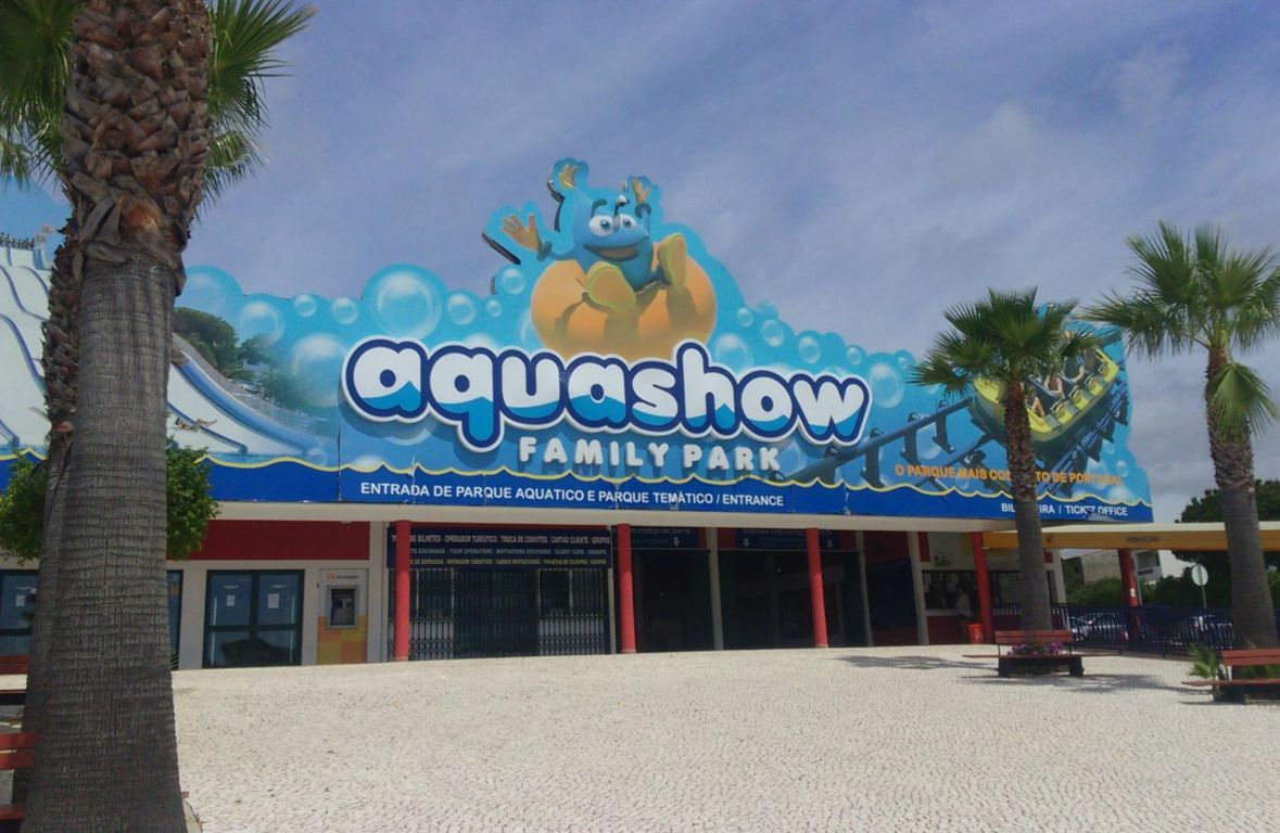 Aquashow entrance