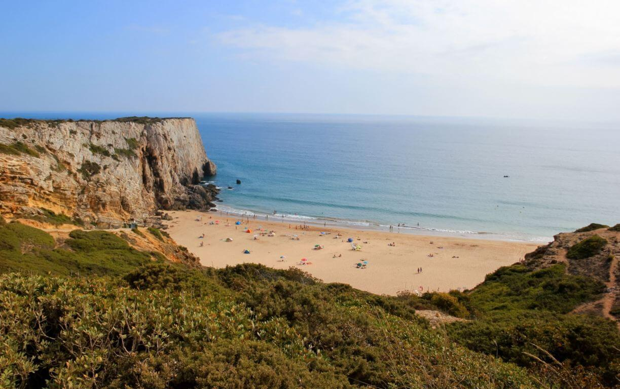 Praia do Beliche surroundings