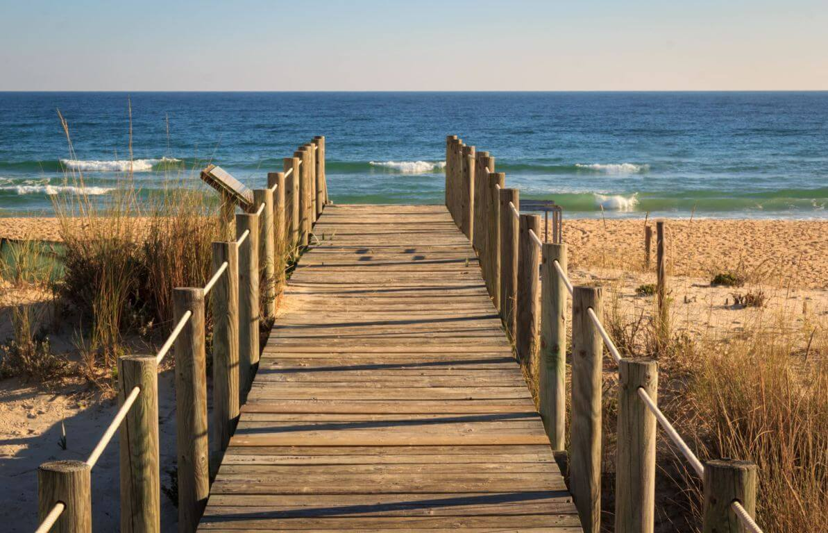 Praia do Barril - pathway to the sea
