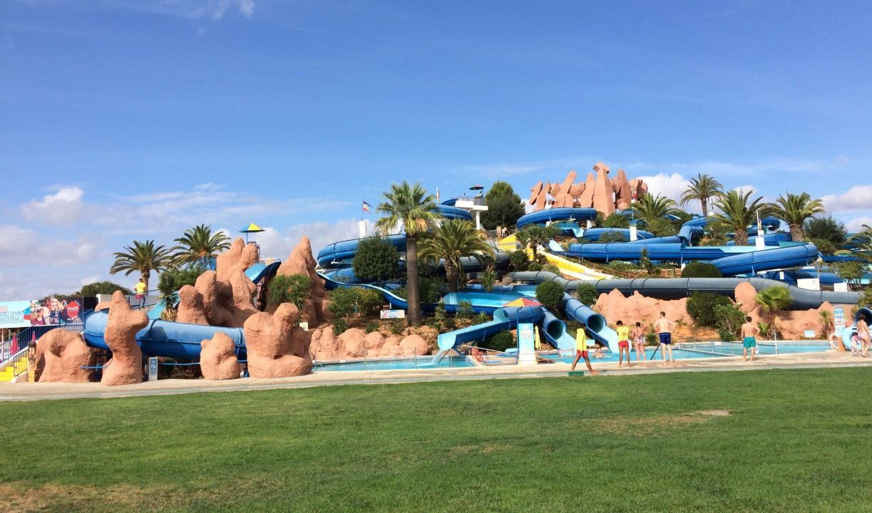Water park in the Algarve