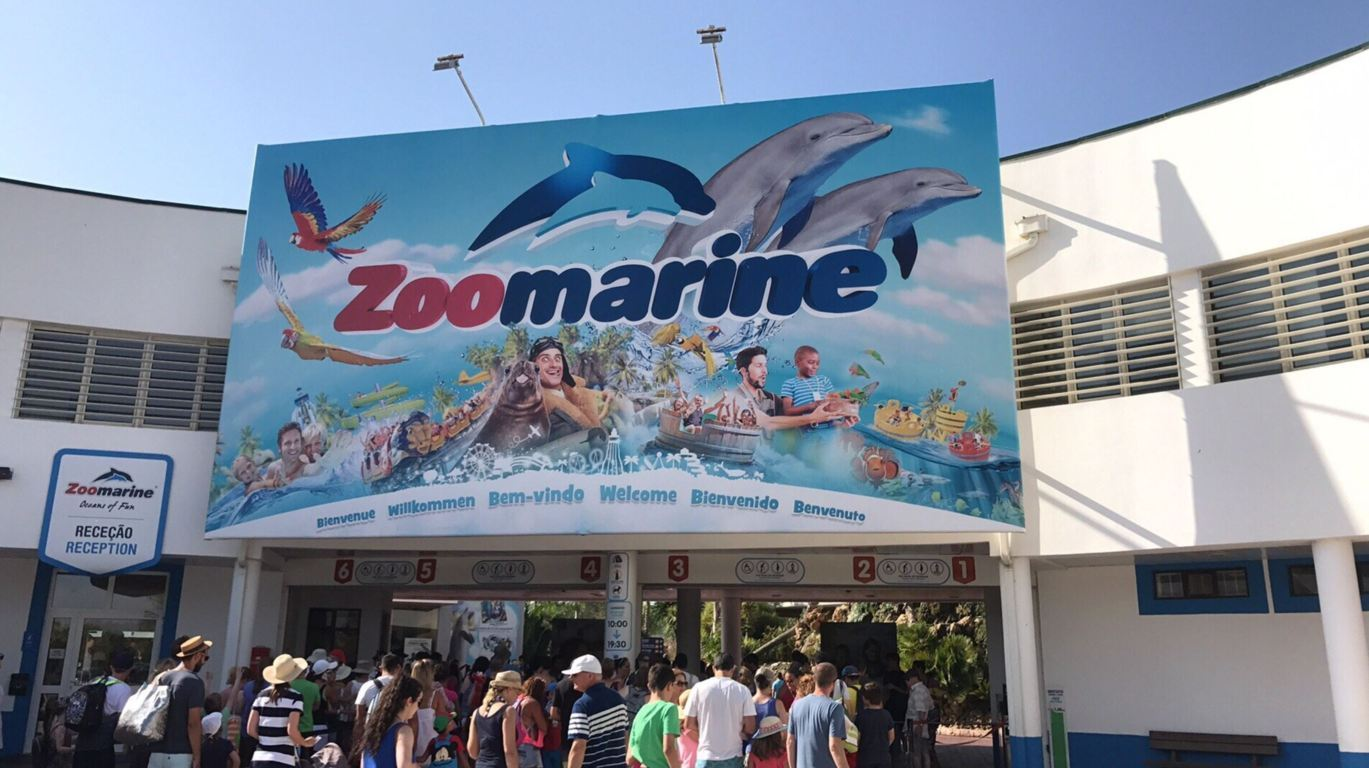 Zoomarine entrance