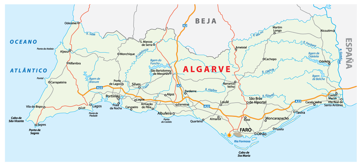 Algarve cities and towns
