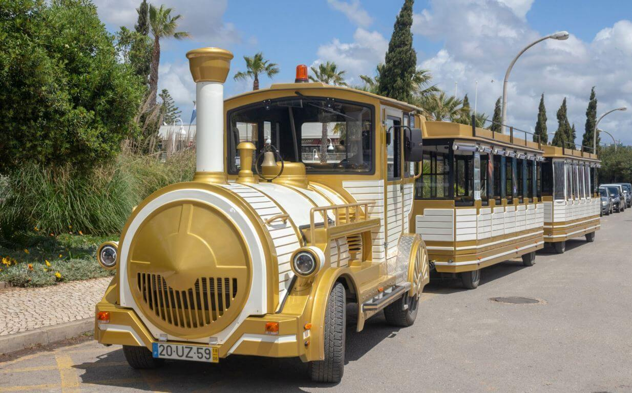 Lagos tourist train