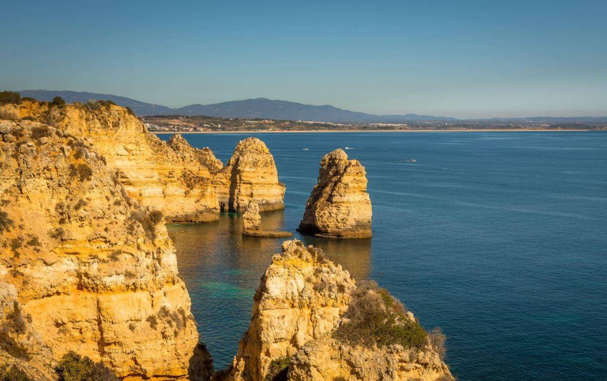 Ponta da Piedade cliff views