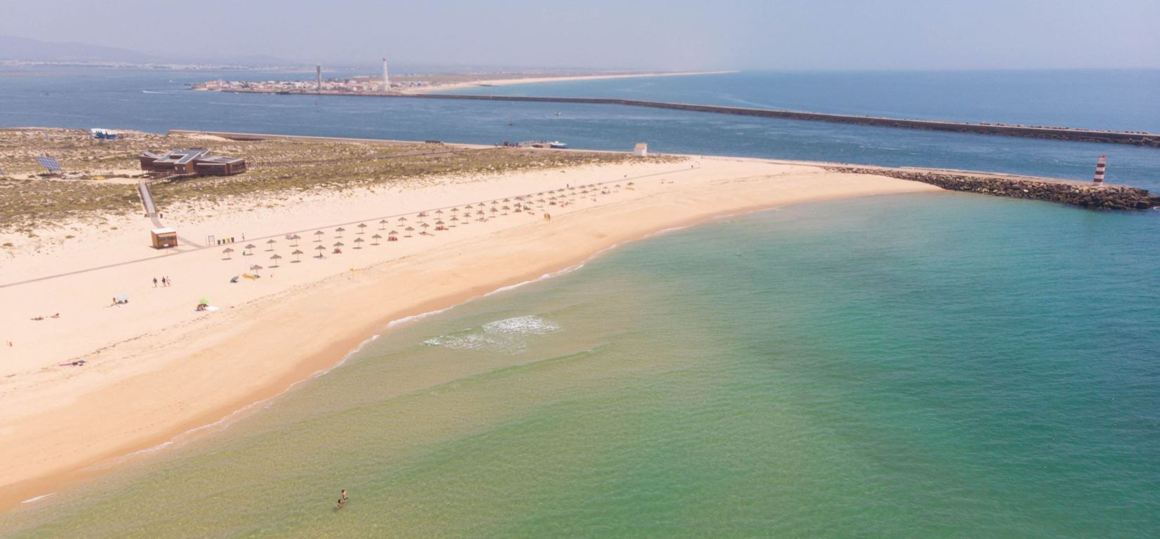 Ilha Deserta, one of the best beaches of the Algarve