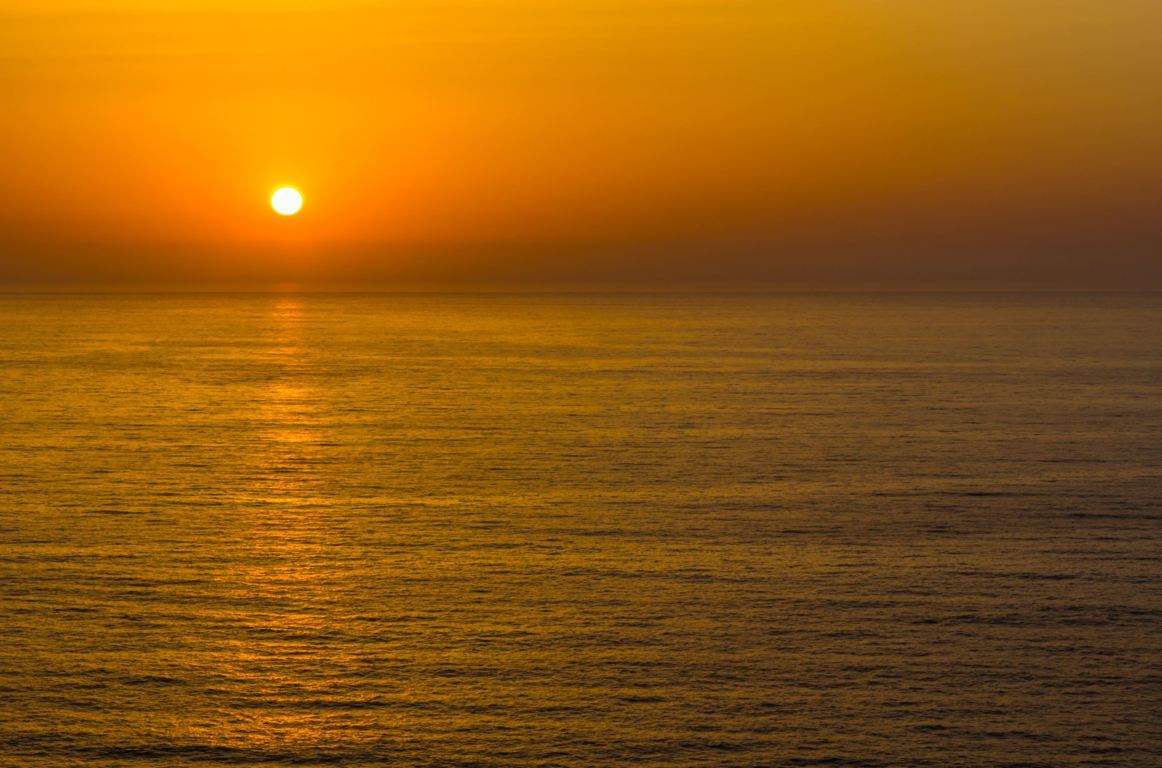 Sunset at Praia da Arrifana
