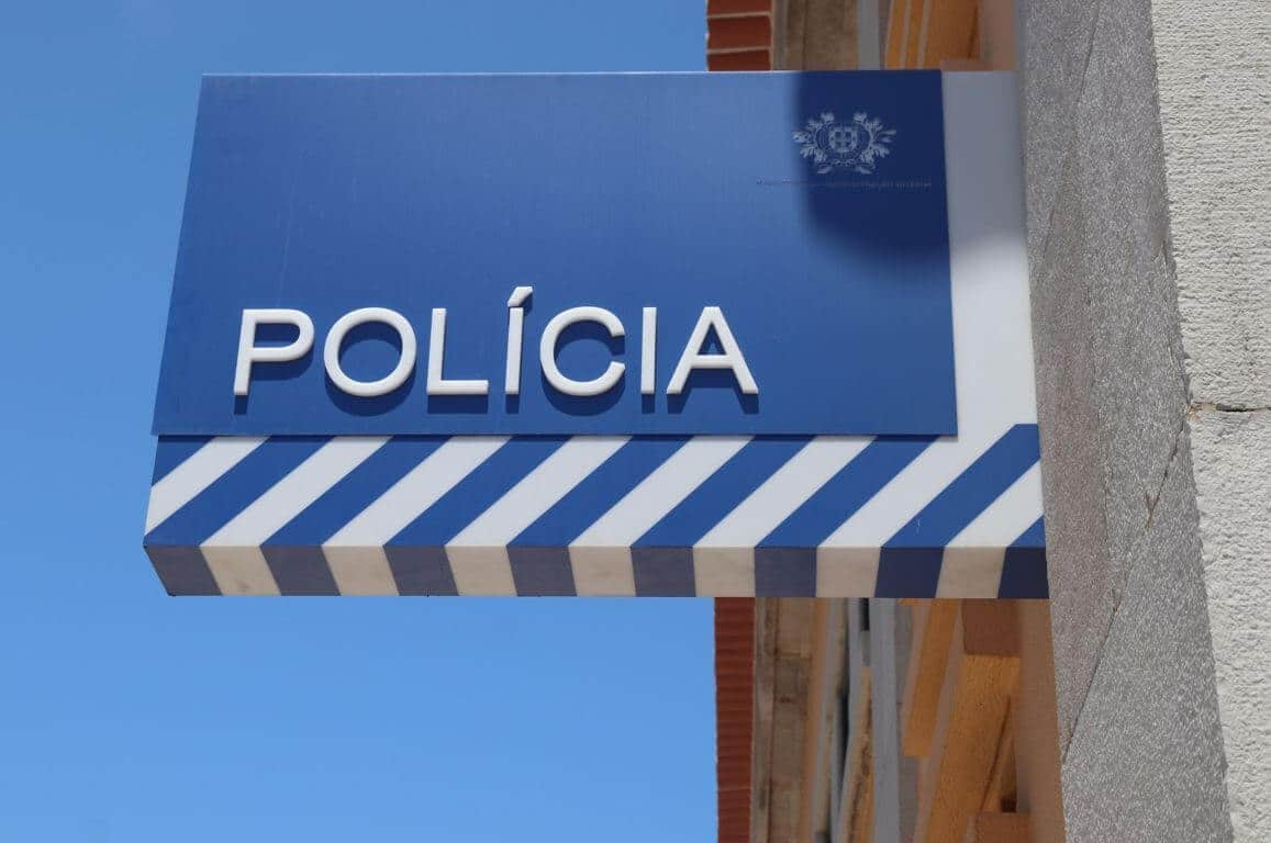 Police in the Algarve