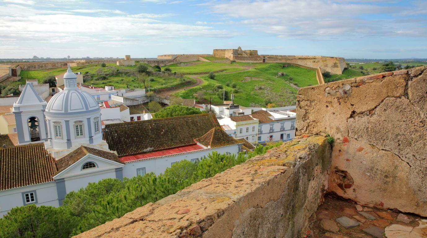 View from the castle of Castro Marim