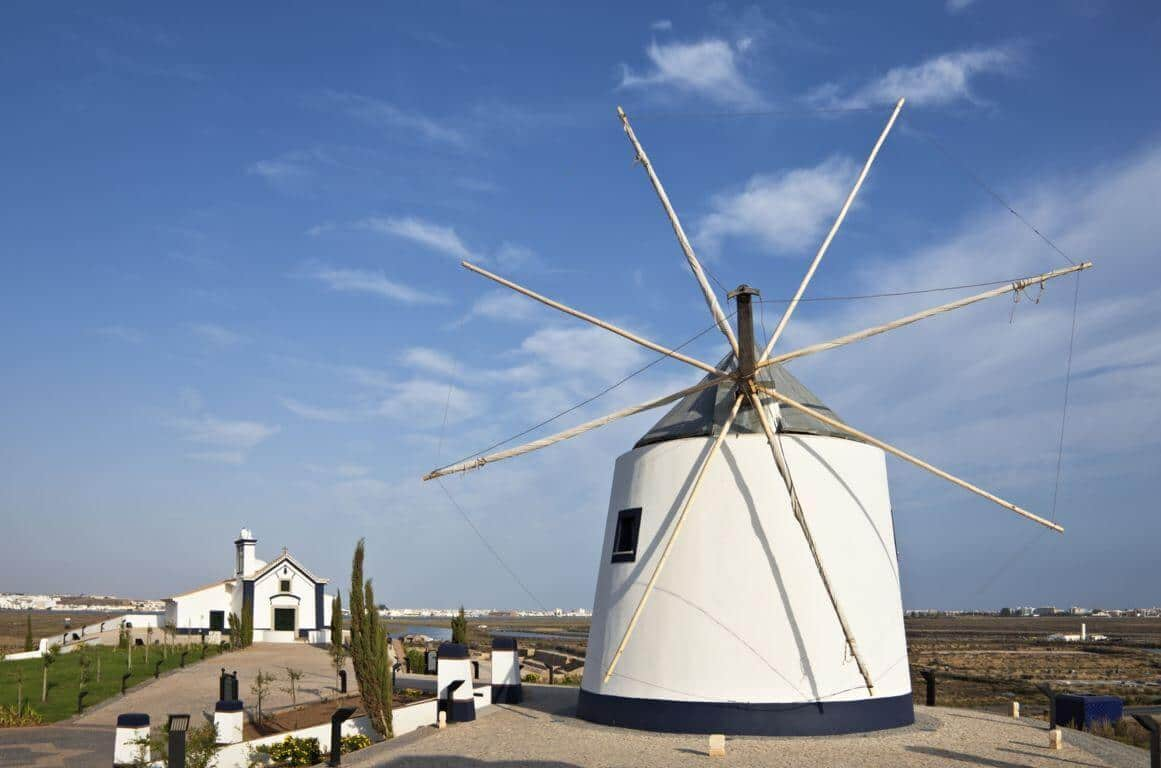 Windmill in Castro Marim