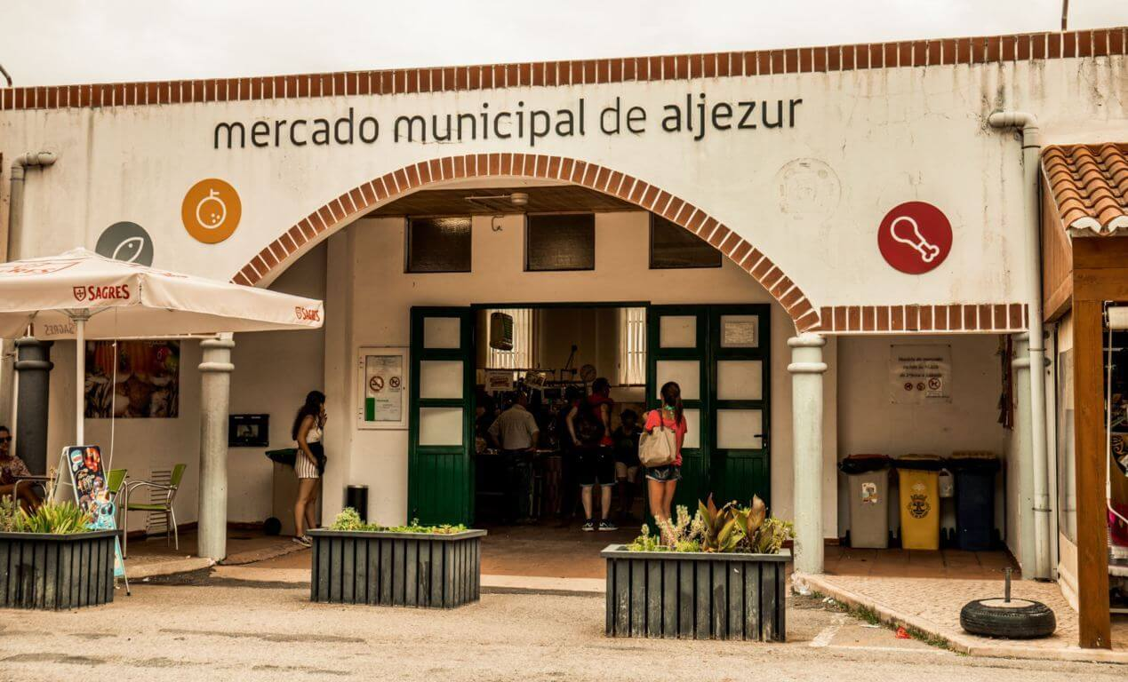 Municipal market in Aljezur