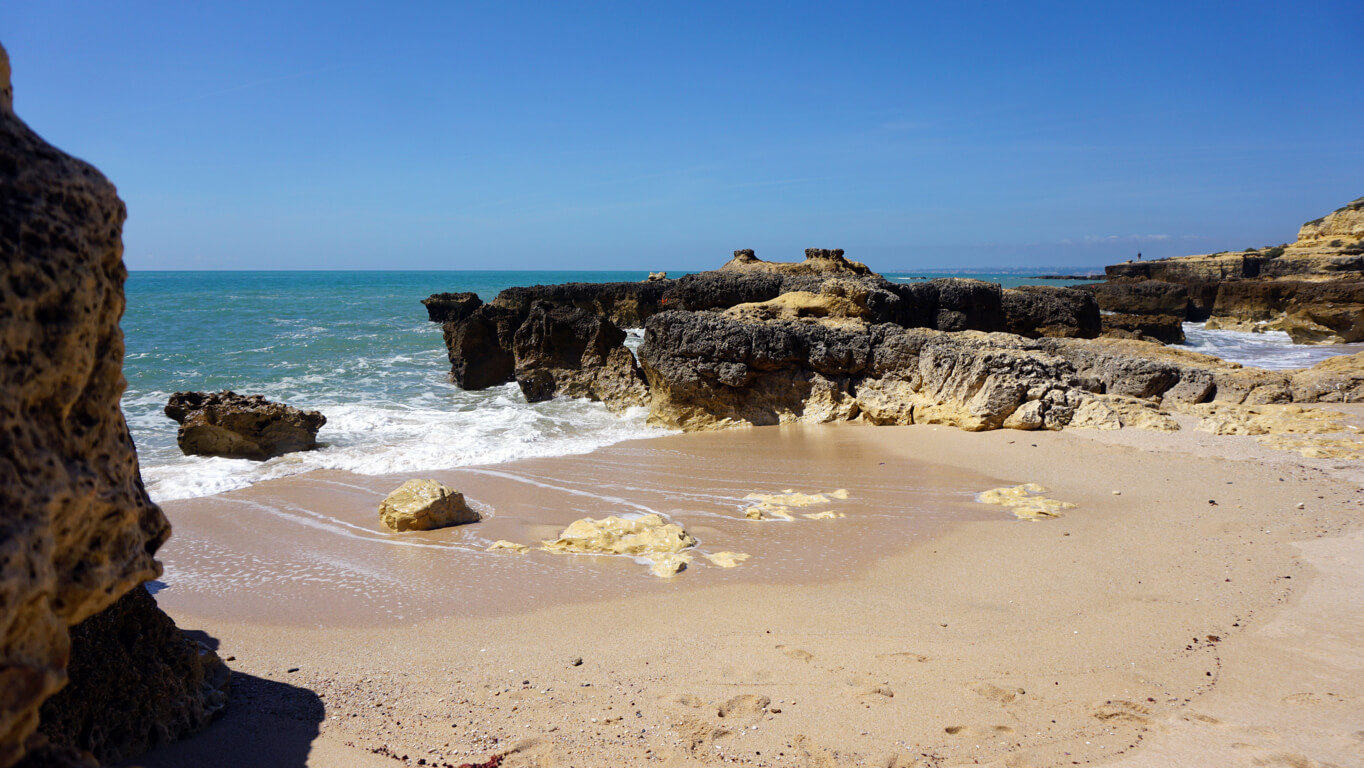 Cove at Praia do Evaristo